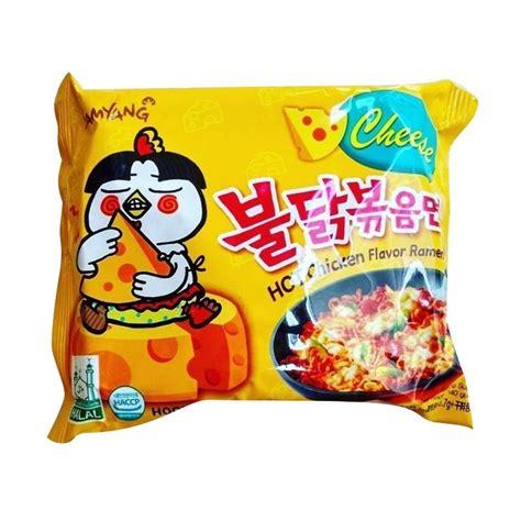 Baru Mie Samyang Chese jual mie instant samyang cheese ramen mi instan 20 pcs