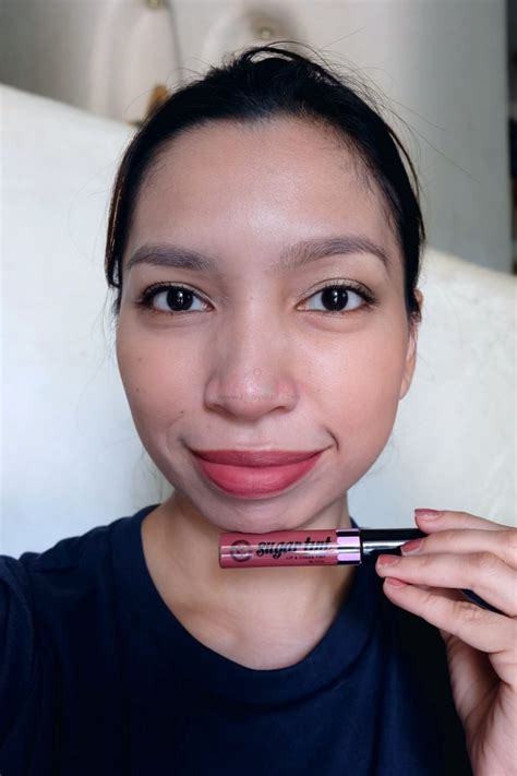 Lip Cheek Tint pink sugar lip and cheek tints review swatch fotd