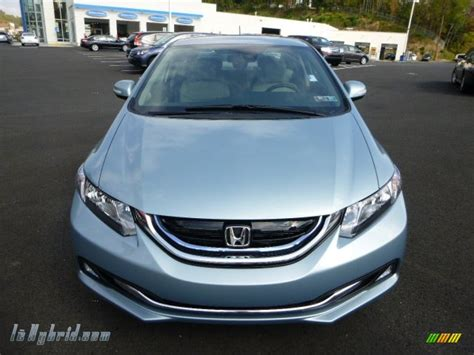 green opal car 2013 honda civic hybrid sedan in green opal metallic photo