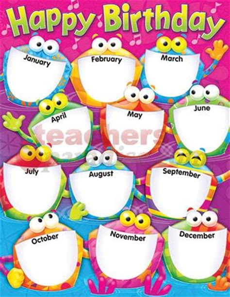 printable owl birthday chart 7 best images of for classroom birthday printables