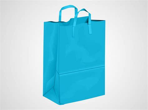 Shopping Bag Free Vector Blue Shopping Bag Vector Graphics Freevector