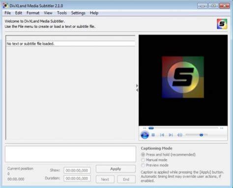 windows movie maker subtitles tutorial free subtitle maker to create fix and edit external