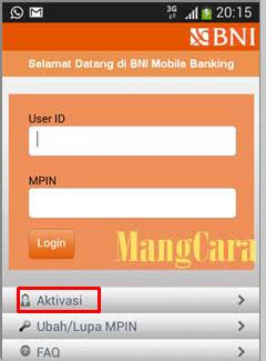 format menu aplikasi bni sms banking bagaimana cara aktivasi bni mobile banking untuk android