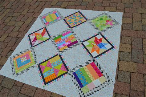Sashing Quilt Blocks by Summer Blockbuster Take 2 Sashing Blocks Color Quilts By Mcconnell