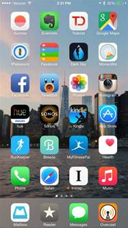 home screens a look at my iphone home screen michael truskowski