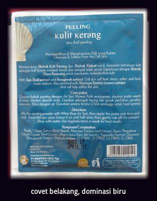 Peeling Kerang Mustika Ratu topic mustika ratu peeling kulit kerang catatan
