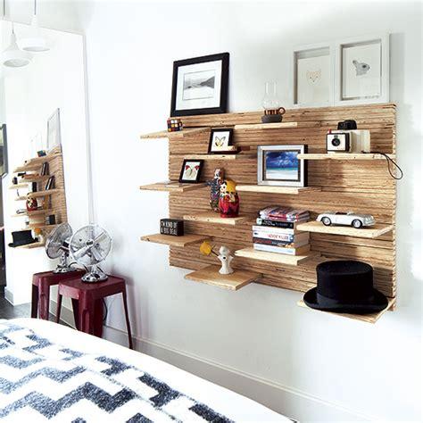 bedroom with shelves scandinavian bedroom ideas ideal home