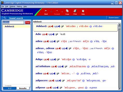 cambridge english pronouncing dictionary free download full version english dictionary audio pronunciation free download
