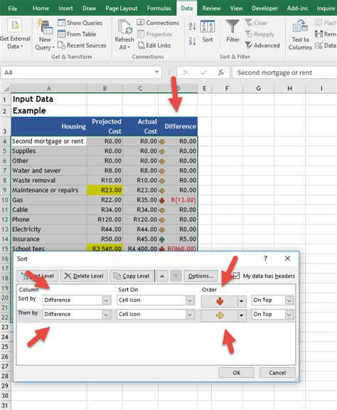 excel tutorial training data sorting online excel training auditexcel co za