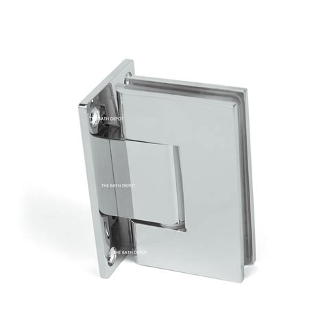 Pivot Hinge Shower Door Frameless Pivot Shower Door Hinge 90 Degree Wall To Glass Stainless Steel Chrome 26 96 Picclick