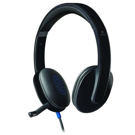 Headset Usb logitech h540 usb black headset 981 000482 shopping