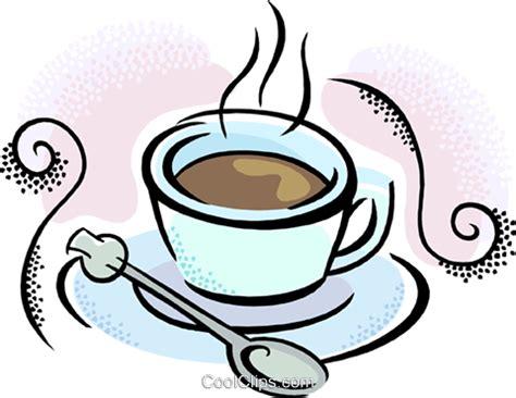 Cappuccino Cups tasse kaffee mit l 246 ffel vektor clipart bild vc020878