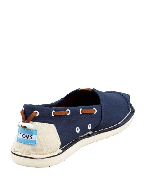 toms womens navy bimini boat shoe ijshoes