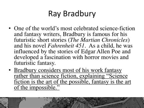 possible themes of fahrenheit 451 ppt there will come soft rains by ray bradbury