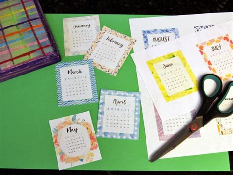 make desk calendar kid made wood desk calendar for gifting make and takes