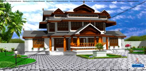 traditional kerala home design  fiyaz pa  coroflotcom