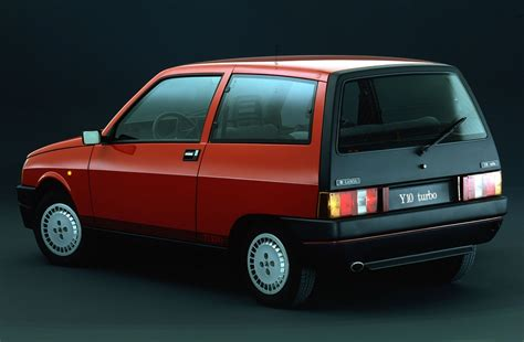 Designing A Garage a look at lancia s short lived y10 turbo ran when parked
