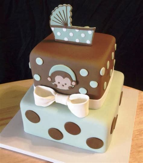 Baby Shower Monkey Cakes by Monkey Theme Cakes For Baby Showers Design Dazzle