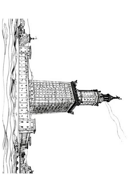 coloring pages of lighthouse of alexandria coloring page lighthouse of alexandria img 11289