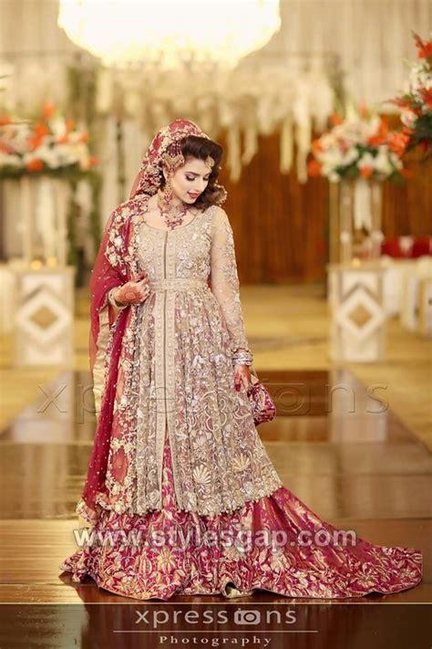 designs pakistani latest bridal lehenga collection