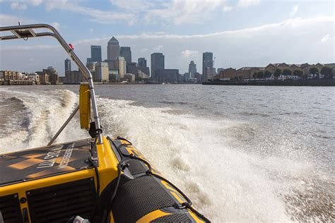 fast boat in london the thames rib experience high speed boat trip london