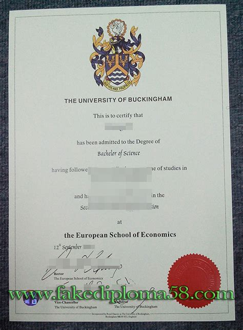 Park Mba Transcript Request by The Of Buckingham Degree Sle Fakediploma58