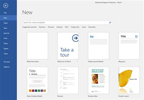 search template create a document use templates and save word