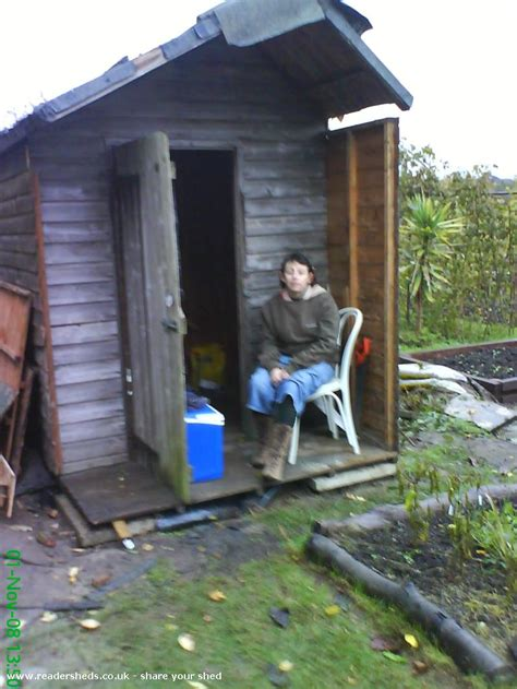 allotment shed        patio