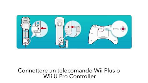come sincronizzare telecomando wii alla console sincronizzare un telecomando wii o un wii u pro controller