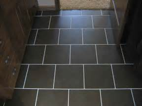 Black Ceramic Floor Tile Brick Kitchen Flooring Feel The Home