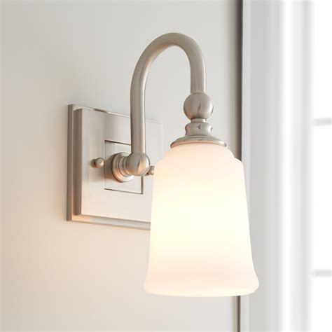 Single Sconce Bathroom Lighting Antonio Vanity Sconce Single Light Bathroom