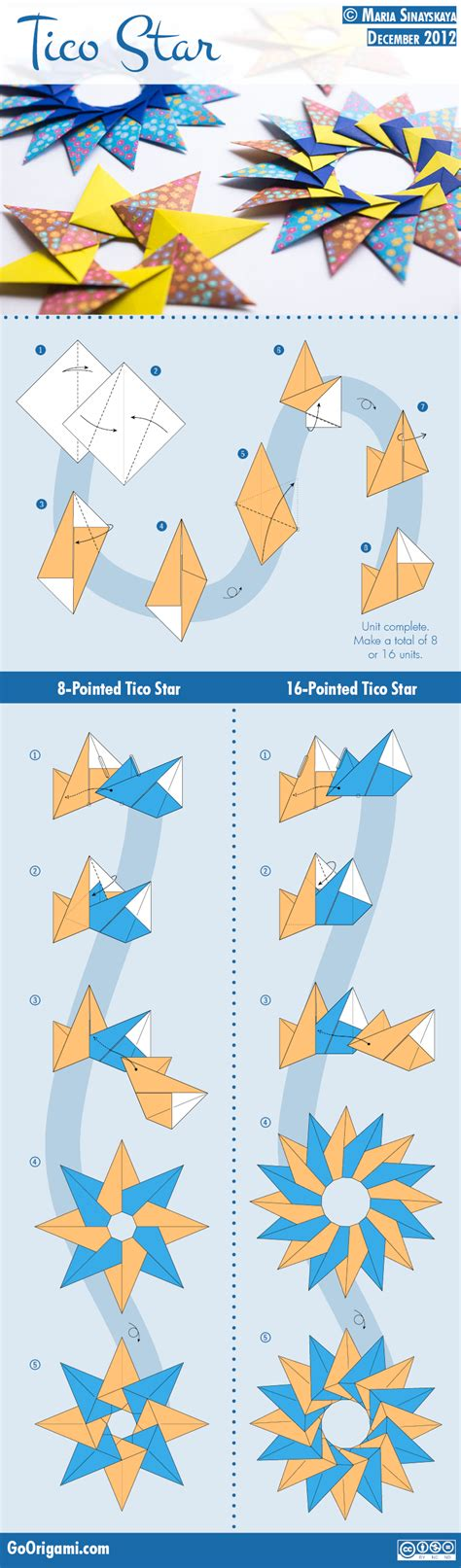 De Origami - tico by sinayskaya diagram go origami