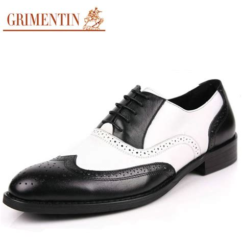 black white oxford shoes aliexpress buy black and white mens shoes dress