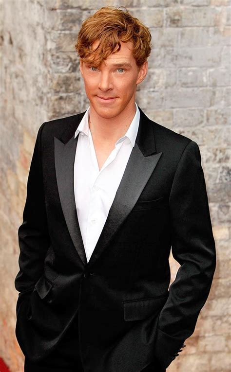 mens fashion for gingers benedict cumberbatch from hottest ginger men e online