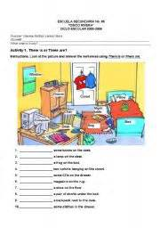 things to do in the bedroom english worksheet things in a bedroom
