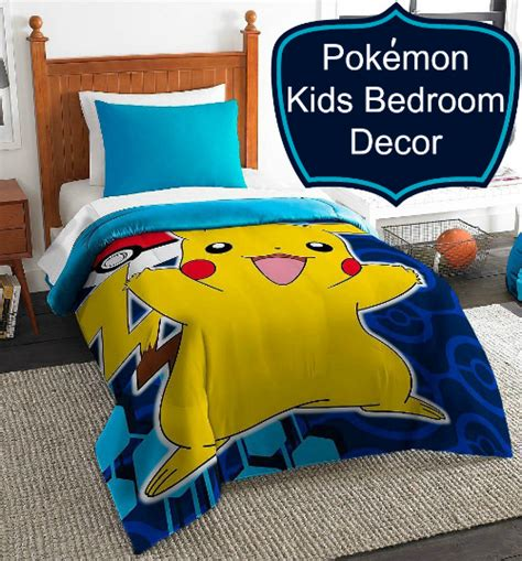 pokemon bedroom accessories pok 233 mon bedding are the coolest