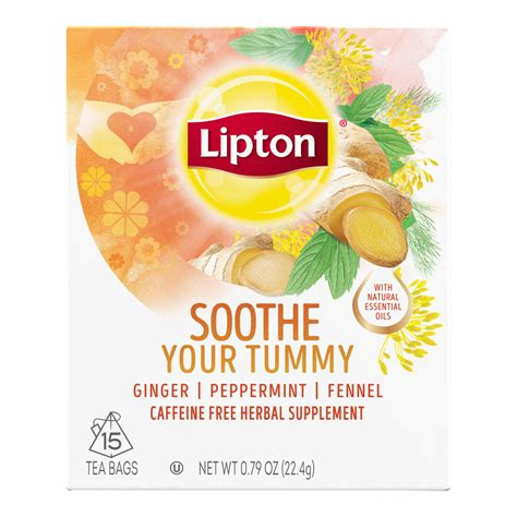 Lipton Detox Tea by Soothe Your Tummy