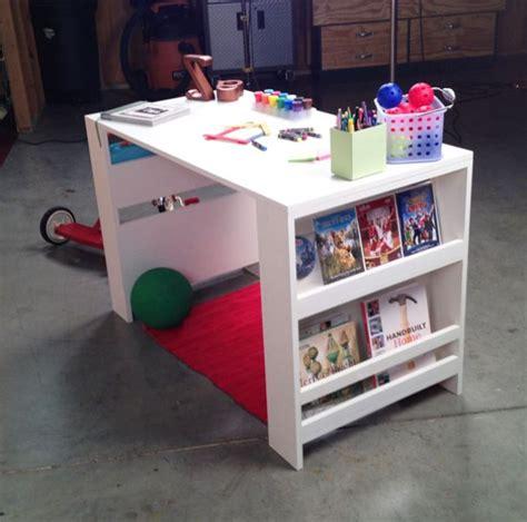 diy toddler desk comfortable diy storage leg desk for kidsomania