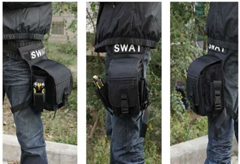 Tas Pinggang Outdoor Travel Money Belt 2 army combat travel utility waist bum bag leg holster money