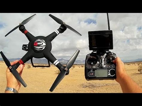 Wltoys Q303 A wltoys q303 a large altitude hold fpv gimbal drone flight test review remote drones