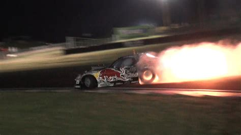 mad mike rx7 mad mike redbull rx7 spitting flames team nz promo