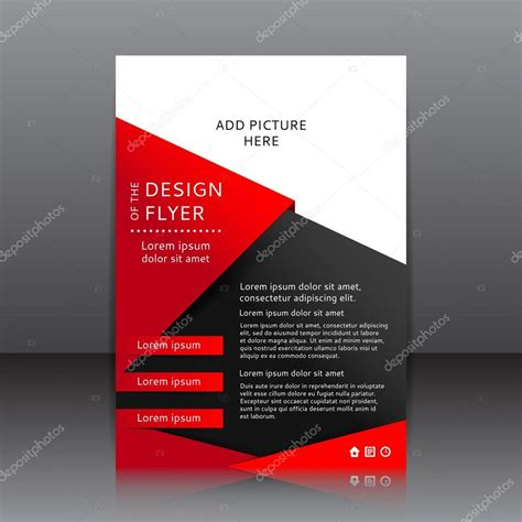 flyer design sles free download design do flyer preto ilustra 231 227 o whit vermelho elementos