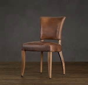 Rustic Leather Dining Room Chairs Ad 233 Le Leather Dining Chair Rustic Contemporary Family