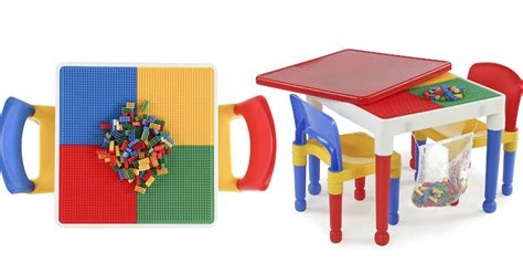 Toys R Us Lego Table And Chairs by Toys R Us 29 99 Building Block Table Free Shipping