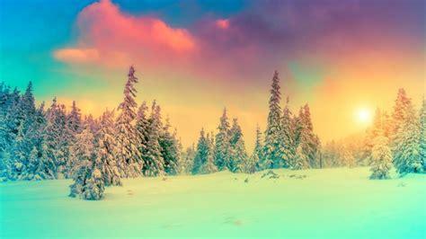 imagenes paisajes invierno invierno paisaje cielo picea fondos de pantalla hd