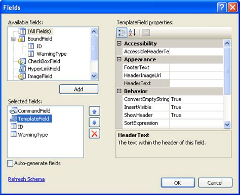 inserting new row in gridview in asp net 2 0