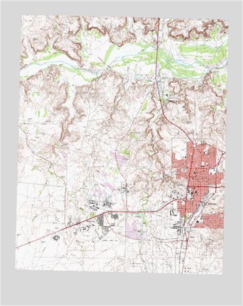 borger texas map borger tx topographic map topoquest