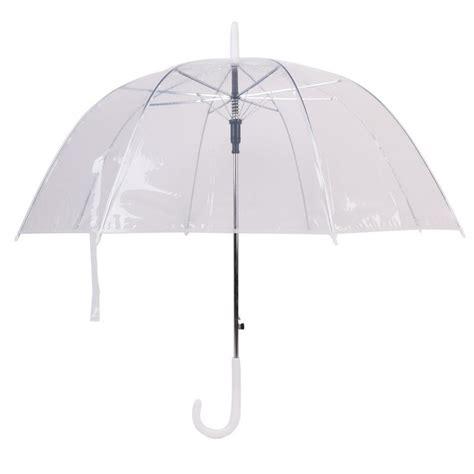 ombrelli trasparenti a cupola acquista all ingrosso cupola trasparente ombrello