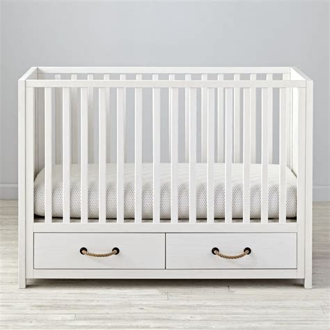 white convertible baby cribs baby cribs convertible storage mini the land of nod