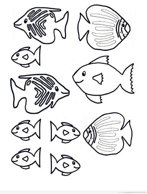moldes de peces facilisimocom peces archivos manualidades con foamy